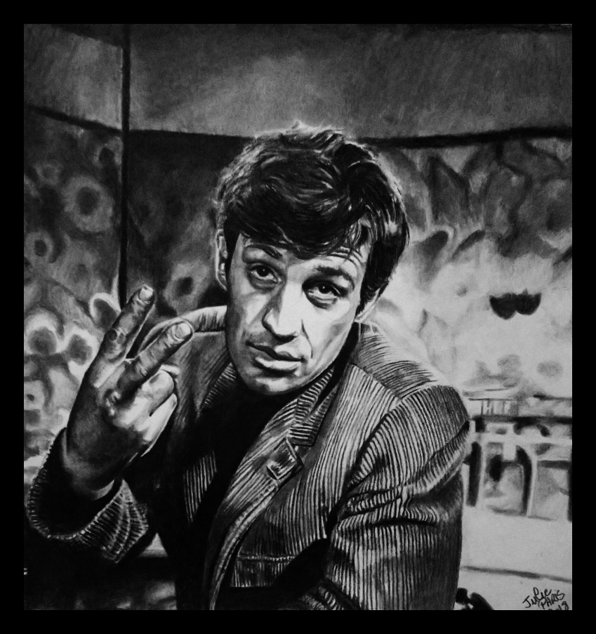 Jean-Paul Belmondo by sanaelle